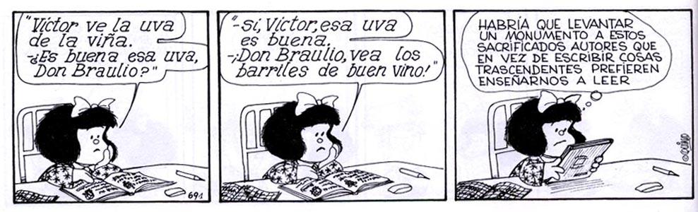 Historietas de Mafalda para imprimir gratis - Imagui