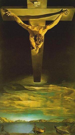 Cristo de San Juan de la Cruz, Dalí