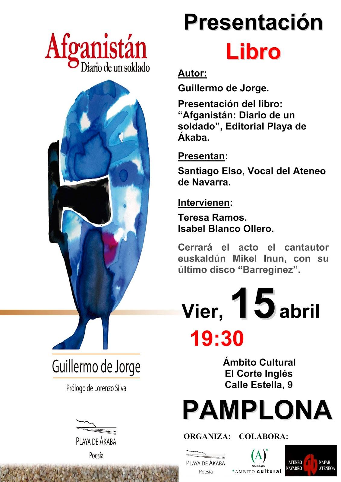 Cartel Presentacion Libro Guillermo de Jorge-peq