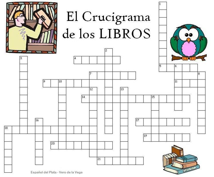 El crucigrama de los libros | Leyendo se entiende la gente